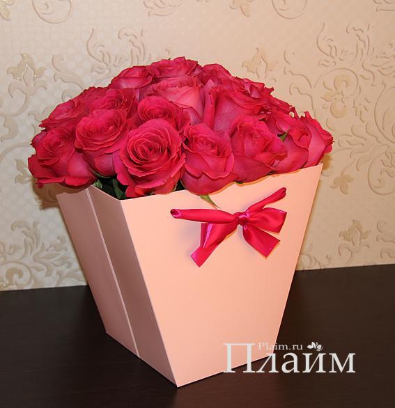 Коробки для цветов своими руками фото 27