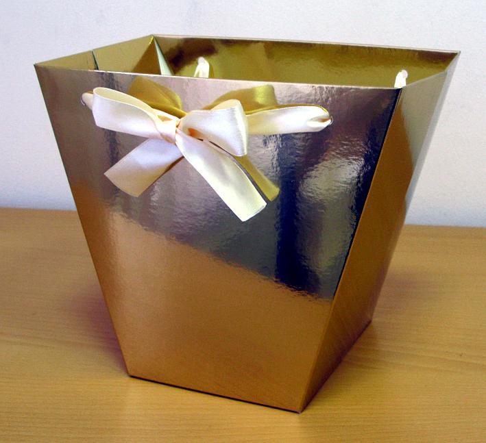 Коробка для цветов своими руками