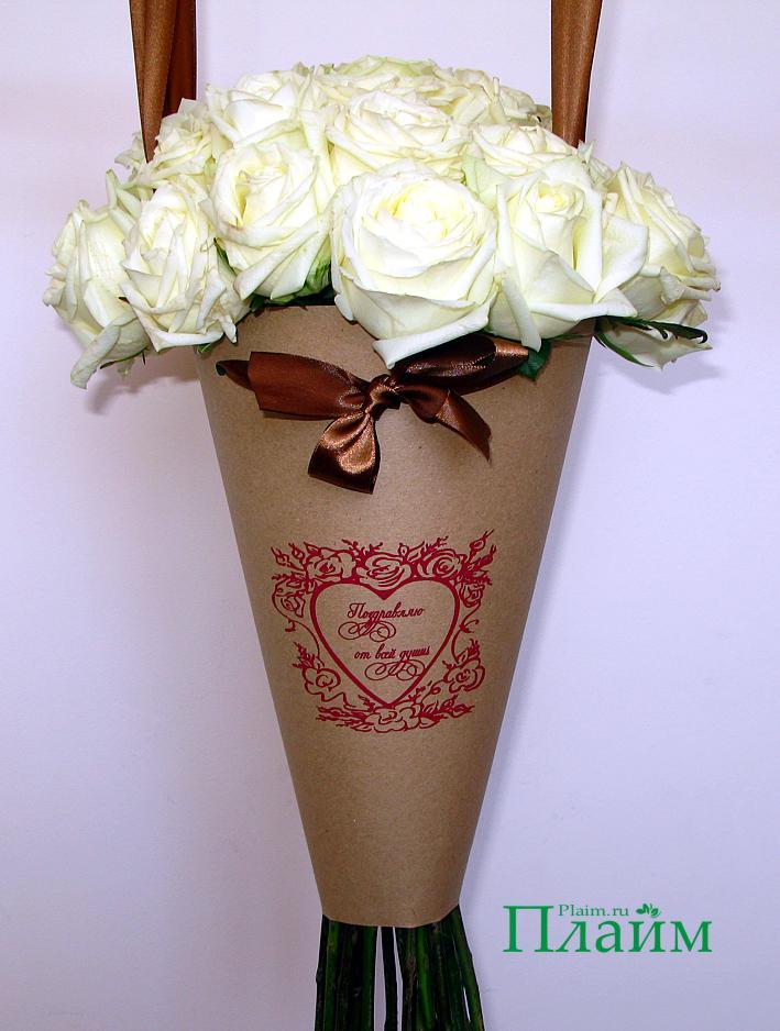 Цветы в пакете своими руками 68