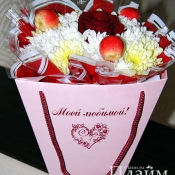 Плайм коробка для цветов и букетов
