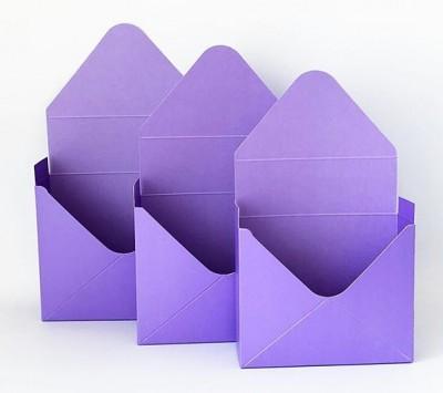 """Коробки """"Конверт"""" набор 3 шт."""