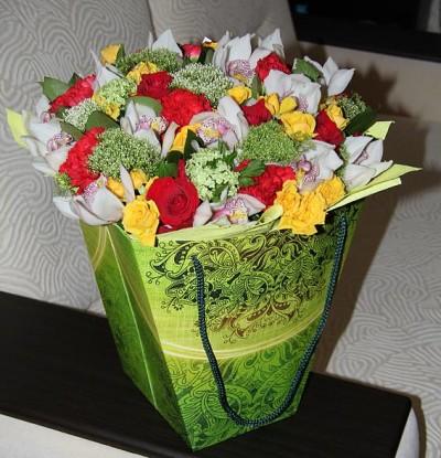 плайм полноцвет, коробки для цветов полноцветные